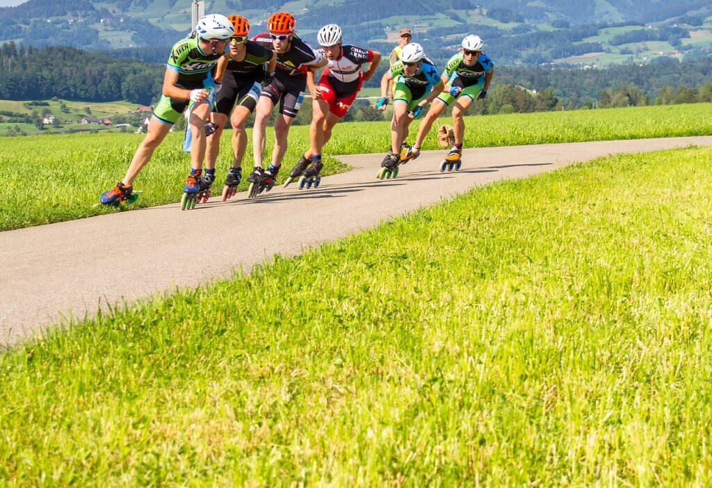 Le roller, un sport à partager à plusieurs et qui permet de se dépenser pour perdre du poids